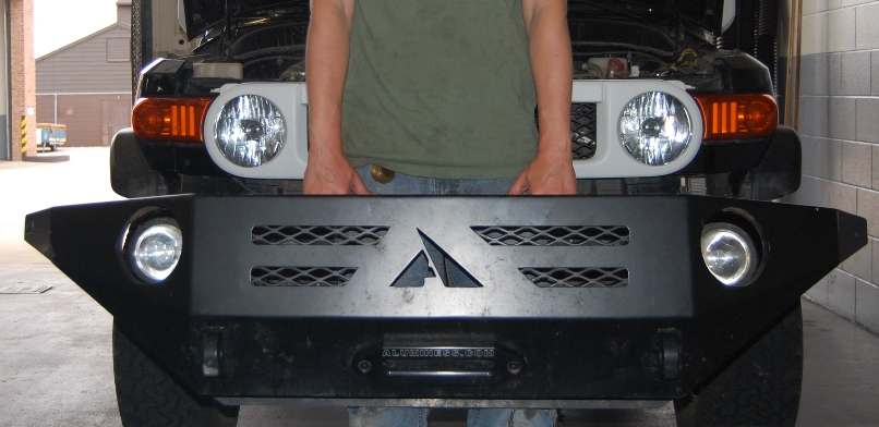 lightweight aluminess bumper for FJ Cruiser